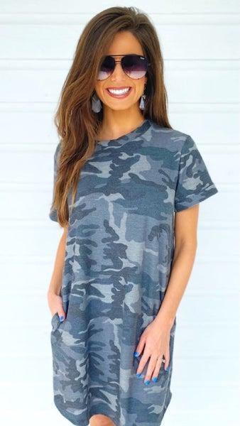Callie Camo Dress