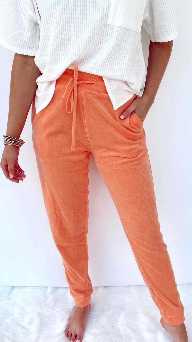 Sherbert Terry Cloth Joggers