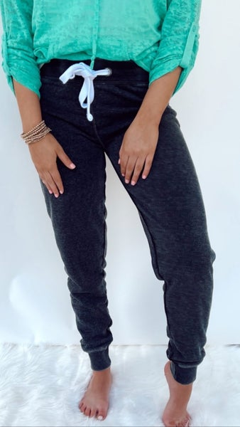 Ready To Relax Charcoal Joggers
