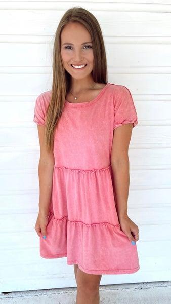 Pink Street Tunic Dress