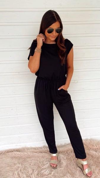 Brittany Black Jumpsuit