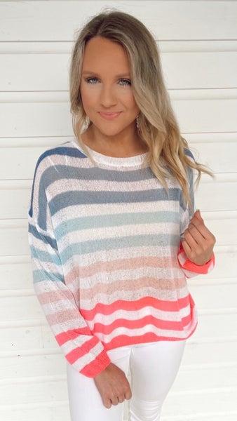 Savi Striped Sweater