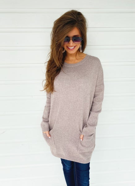 Almond Pocket Tunic