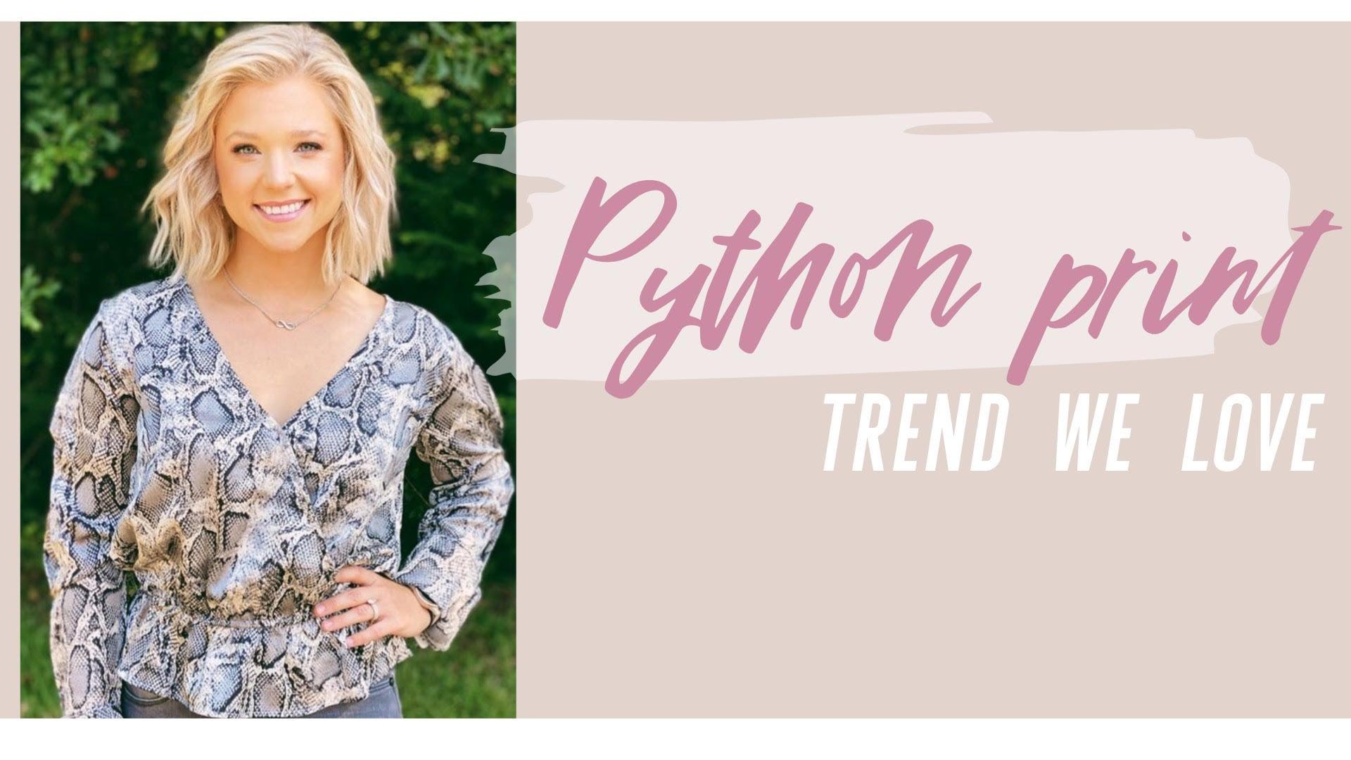 Python Trend
