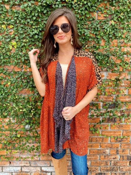 Check Me Out Kimono
