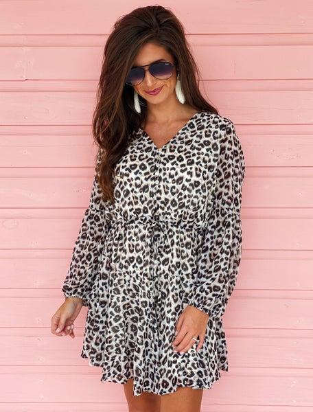 Darling Leopard Dress