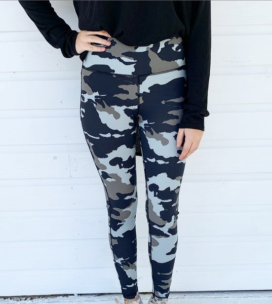 Camo Athletic Leggings