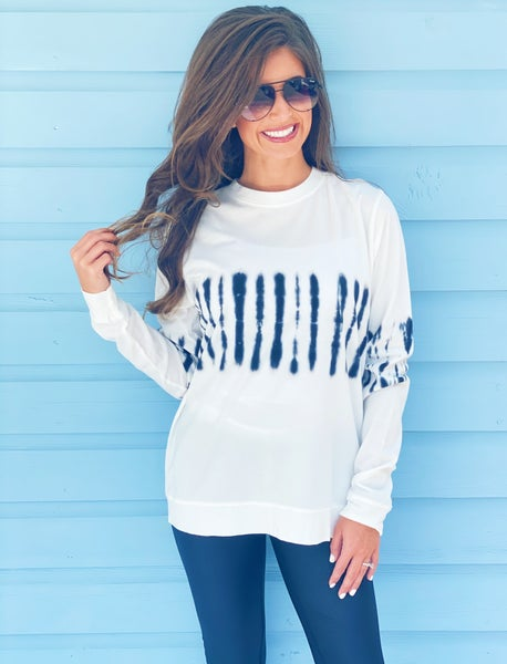 Twist It Up Tie Dye Pullover