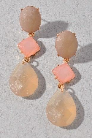 Starlit Evening Stone Earrings