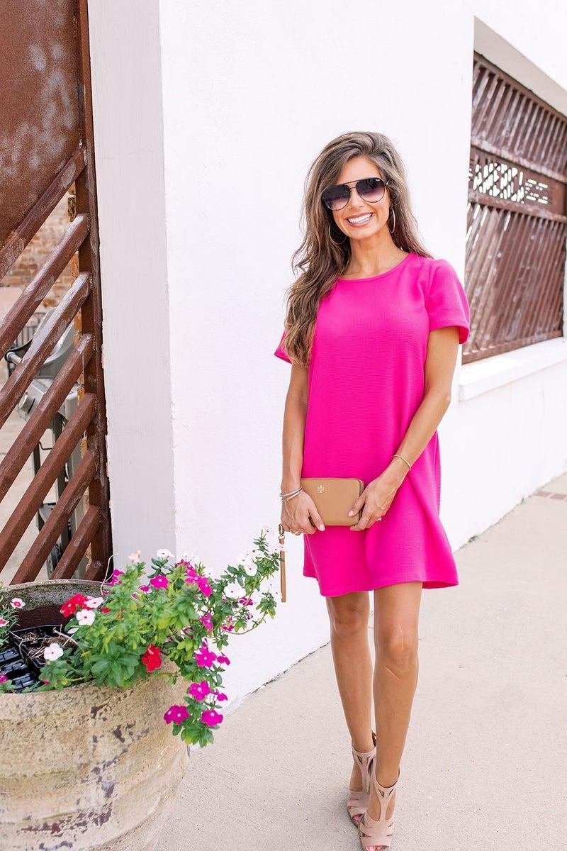 Make You Happy Dress- Pink