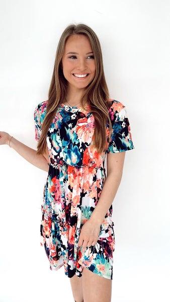 Vibrant Beauty Dress