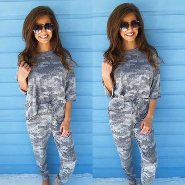 Lazy Days Camo Set