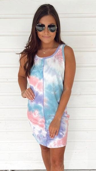 Cotton Candy Tank Dress