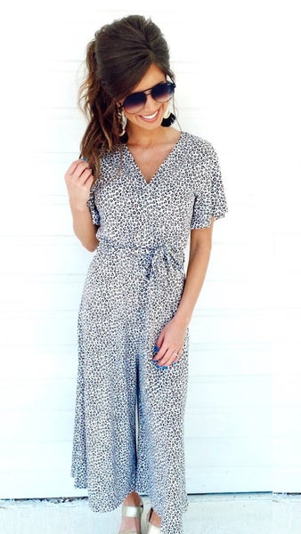 Darling Spotted Jumpsuit