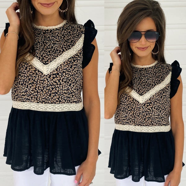 All About Animal Print Tank