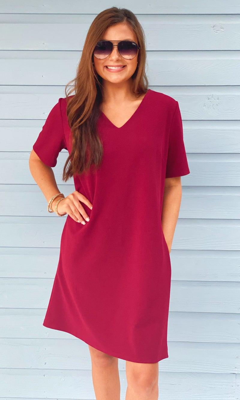 Sweet Caroline V-Neck Dress
