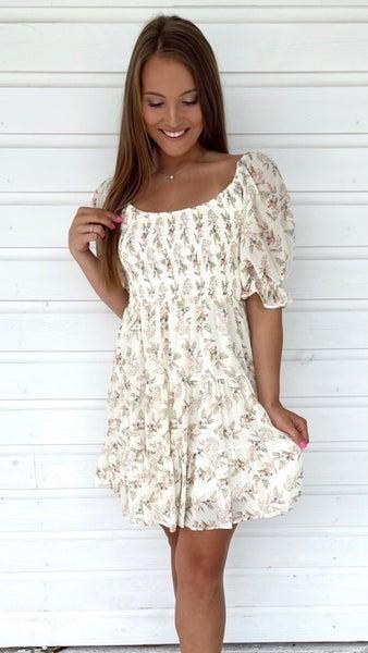 Boho Chic Floral Dress