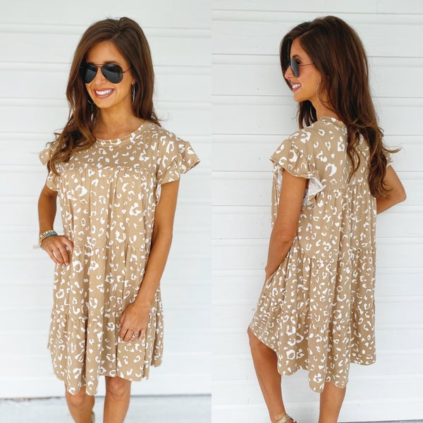 Get Wild Spotted Dress