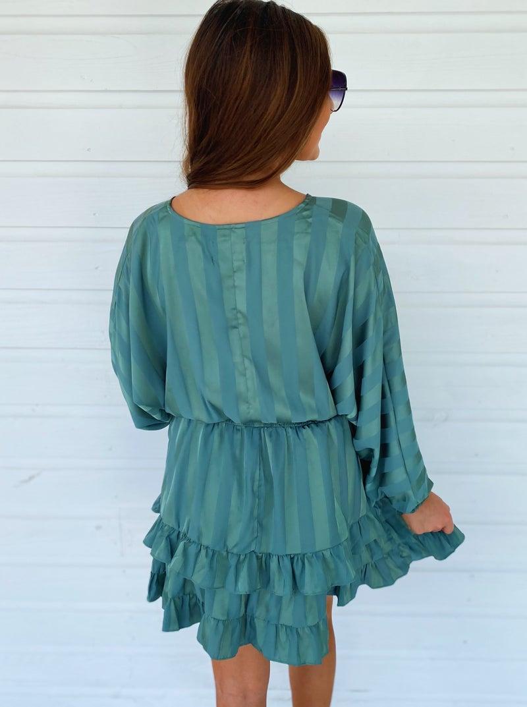 Eliza Emerald Dress