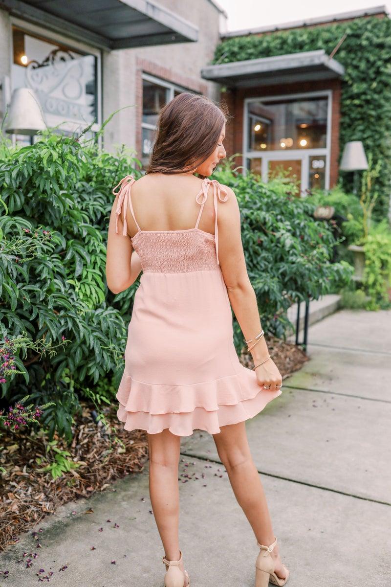 Peaceful In Peach Dress