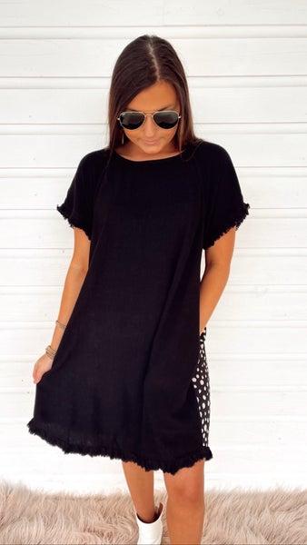 In The Spotlight Black Dress