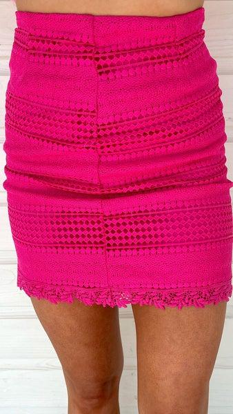 Maci Magenta Pink Skirt