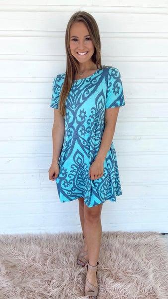 Garden Party Mint Dress