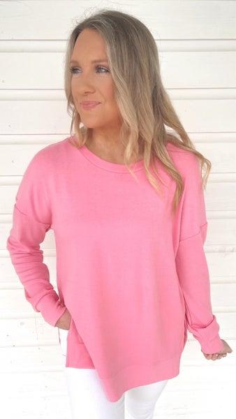 Sailing Away Casual Pink Top
