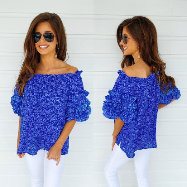 Call It Like You See It Cobalt Top