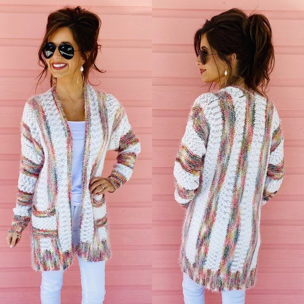 Marie Multicolored Cardigan
