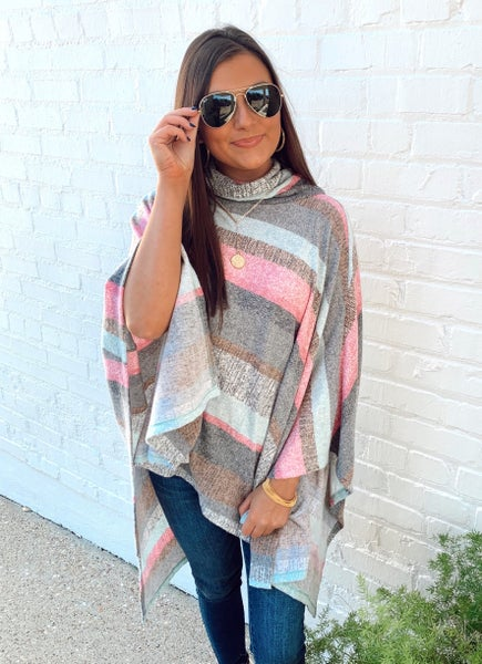 Mint To Combo Poncho