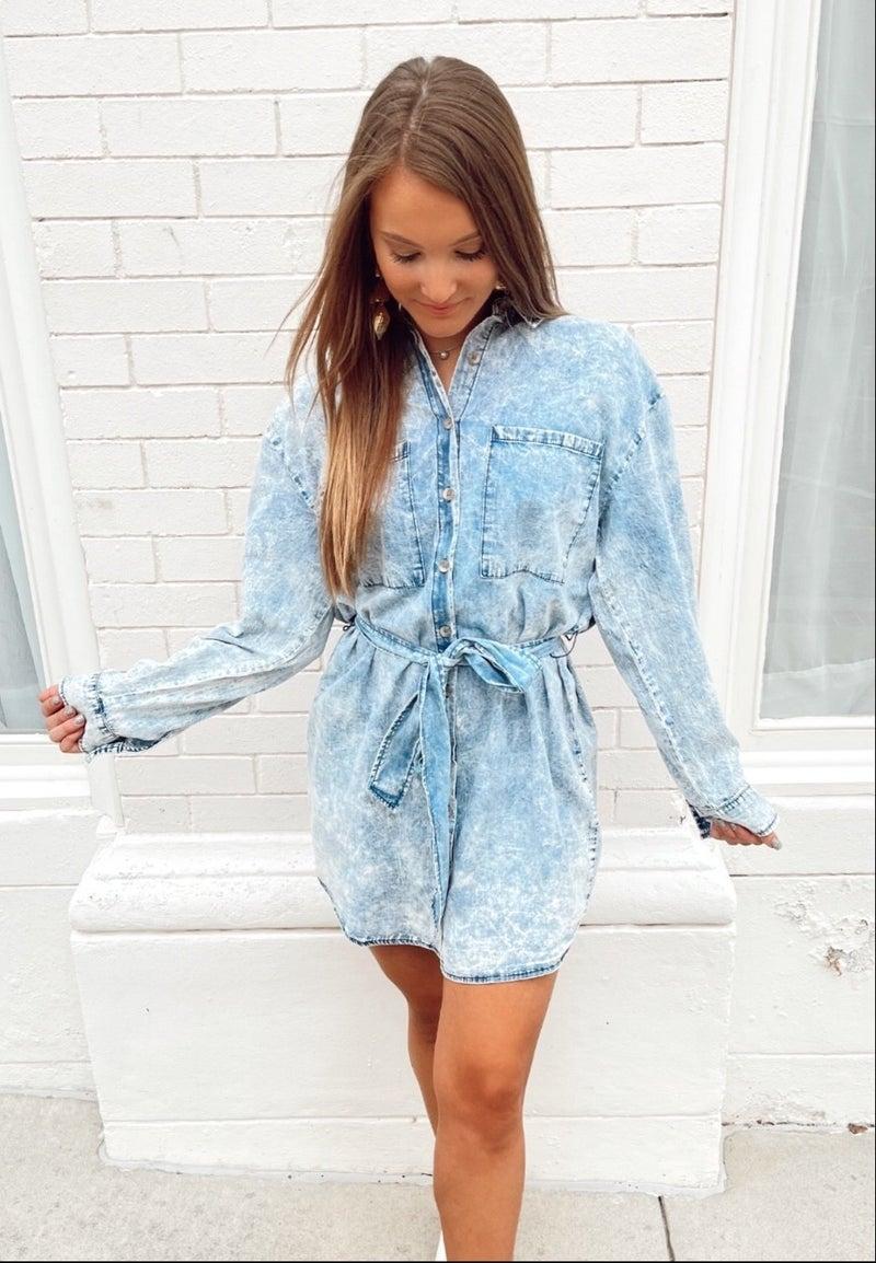 Danielle Denim Dress