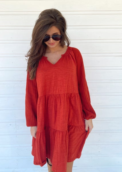 Brooklyn Brick Crochet Dress *Final Sale*