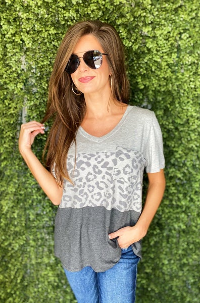 Grace Leopard Print Top *Final Sale*