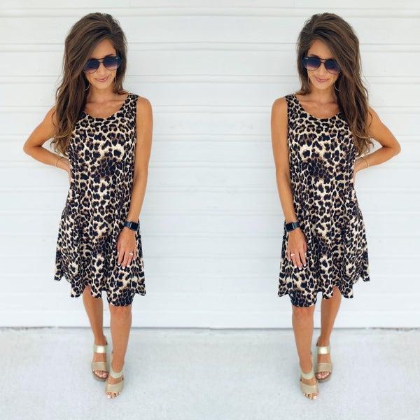 Sweet Days Leopard Dress