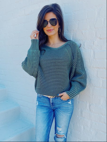 Allie Green Sweater