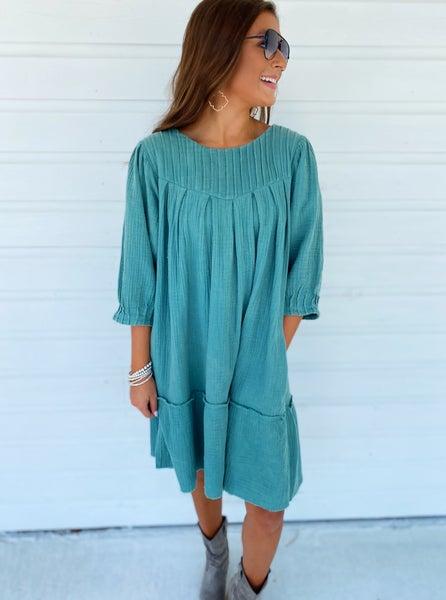 Sydney Sage Dress