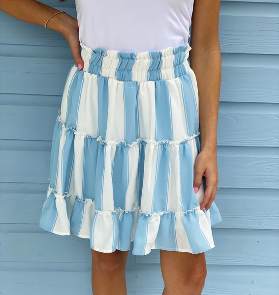Coming Home Blue Skirt