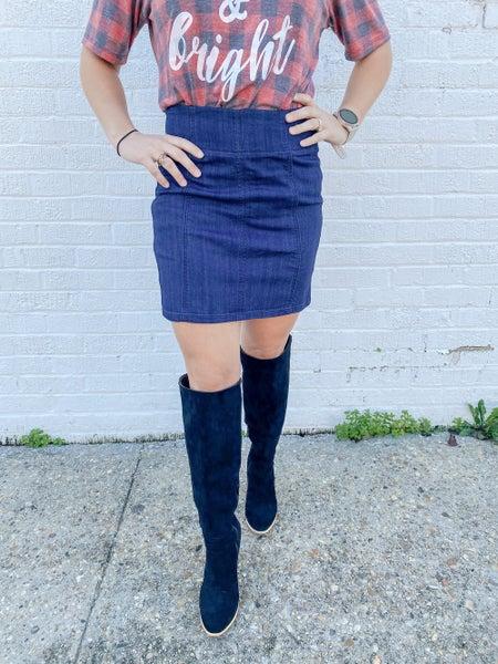 Darling Denim Skirt