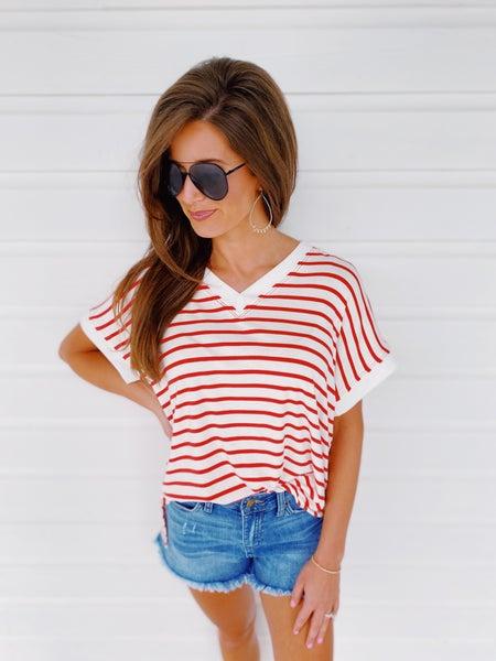 Rosie Striped Top