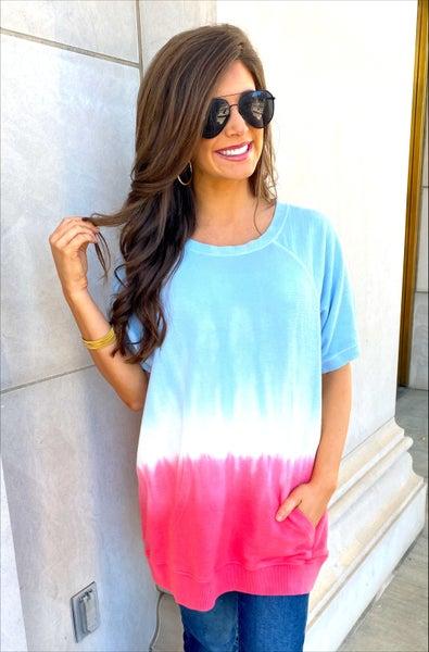 Daisy Short Sleeve Pullover Tunic