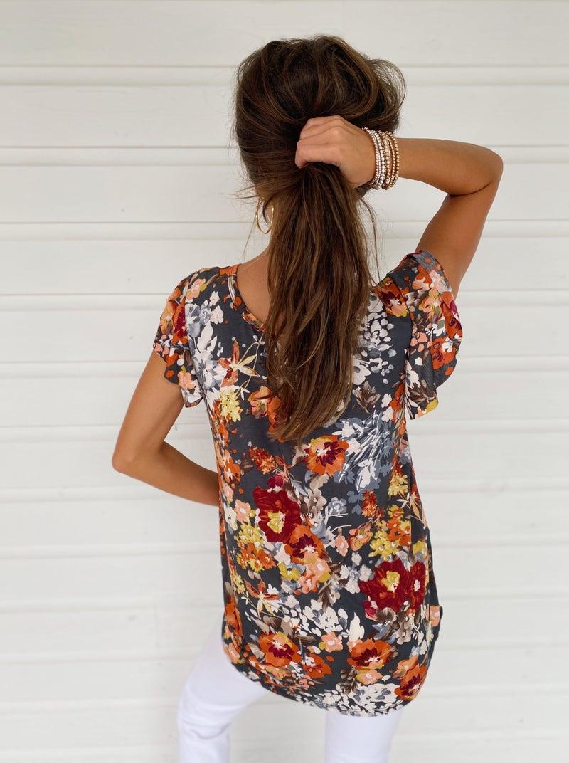 Jasmine Floral Top