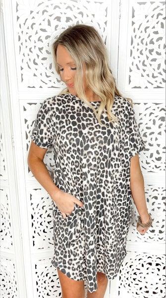 Wild One Cuffed Sleeve Dress
