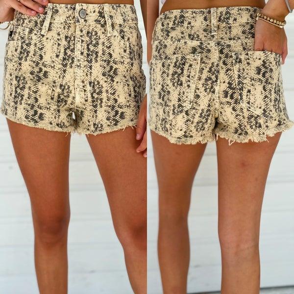 Python Printed Shorts