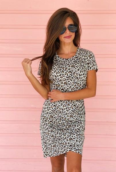 Lola Leopard Dress