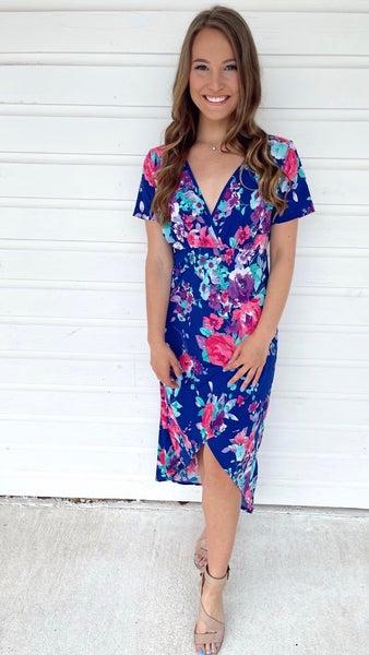 Meet Me in Maui Floral Dress