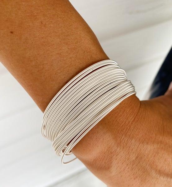 Bella Bracelets- Silver