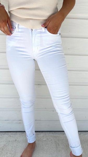 Kaily White Skinnies