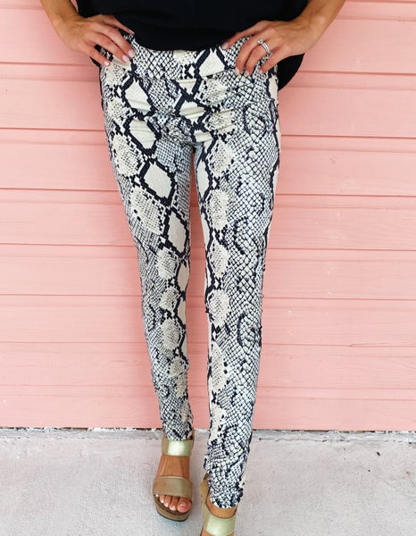 Sadie Snake Print Leggings