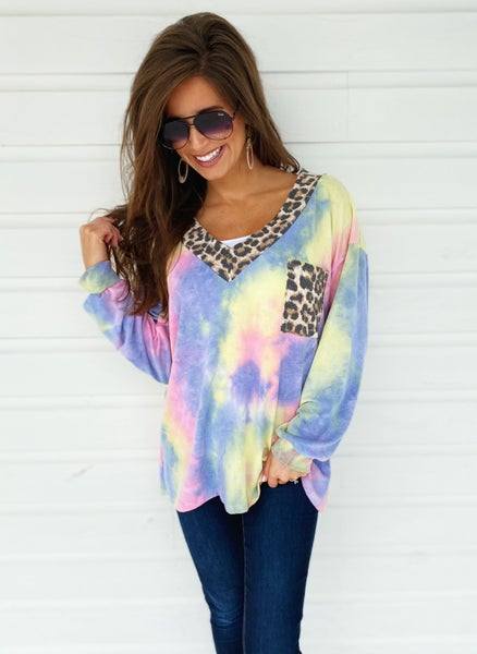 So Much Fun Multicolored Top